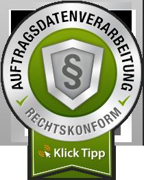 seal darkgreen large - Datenschutzerklärung