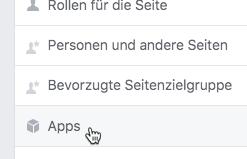 Tab von Facebook-Fanpage entfernen: Button-Reiter hinzufügen oder entfernen