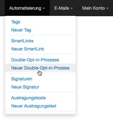 E-Mail-Adresse ändern: neuen Double-Opt-in-Prozess erstellen