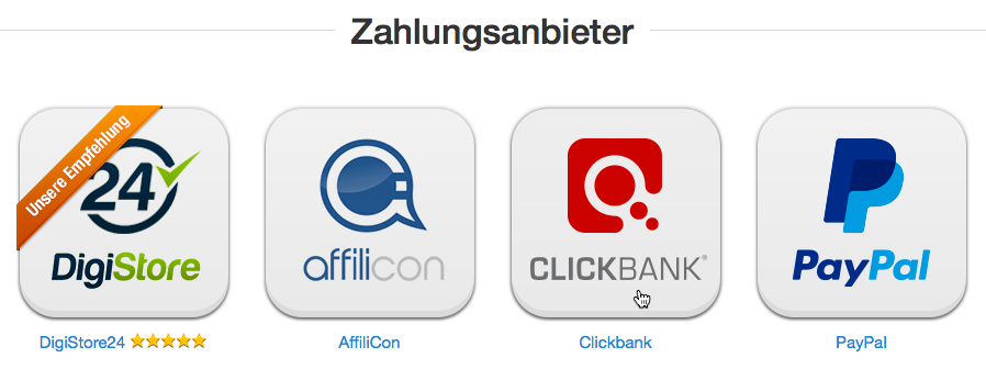 Clickbank Icon klicken