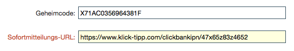 Clickbank-Button bearbeiten