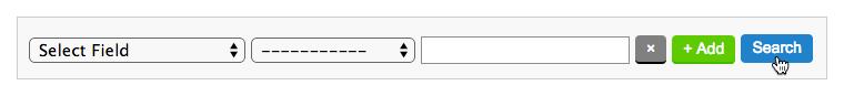 Kontakte exportieren AWeber: Button Search