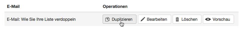 Splittest-E-Mail duplizieren