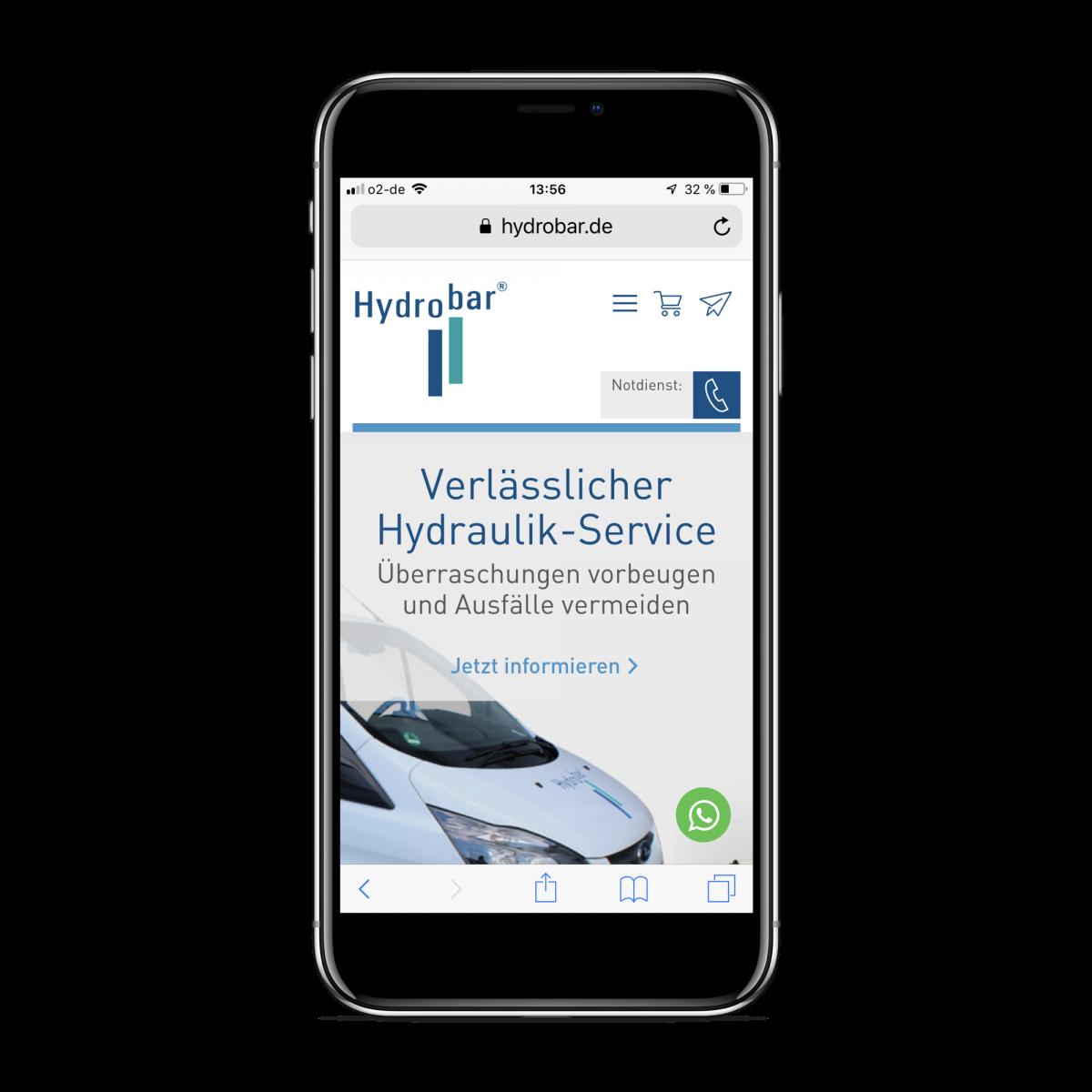 Hydrobar Whatsapp