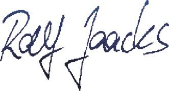 Unterschrift Ralf Jaacks